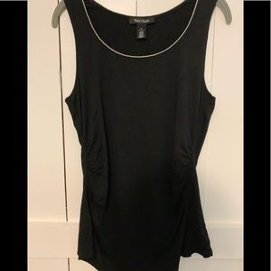 ❤️WHBM Top With Silver Neckline ❤️